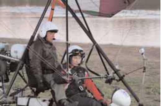 Фото 3. Президент Российской Федерации Владимир Путин заруливает на стоянку после успешного выполнения тренировочного<!-- WP_SPACEHOLDER -->полета